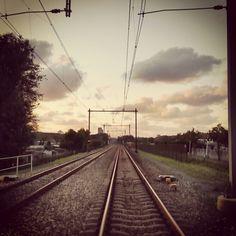 Railway near Delft