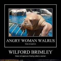 demotivational posters - WILFORD BRIMLEY