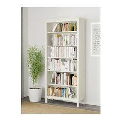 LIATORP Bookcase, white, 37 Are you a romantic at heart? The delicate shapes and details are reminiscent of country living. Combine with other furniture in the LIATORP series for a complete, beautiful look. Ikea Billy, Ikea Liatorp, Shallow Shelves, White Stain, Ikea Hack, My New Room, Adjustable Shelving, Interiores Design, Lineup