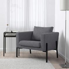 IKEA offers everything from living room furniture to mattresses and bedroom furniture so that you can design your life at home. Check out our furniture and home furnishings! Secret Storage, Hidden Storage, Design Ikea, Ikea Armchair, Ikea Fabric, Ikea Family, Polypropylene Plastic, Fabric Armchairs, 10 Years