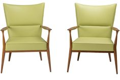 Pair of Paul McCobb Lounge Chairs | From a unique collection of antique and modern lounge chairs at https://www.1stdibs.com/furniture/seating/lounge-chairs/