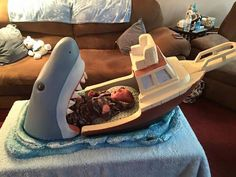 This Jaws-Themed Baby Bed Is Terrifyingly Cute Read more at http://nerdapproved.com/household/this-jaws-themed-baby-bed-is-terrifyingly-cute/#8T9hDoRPzD56ELYT.99