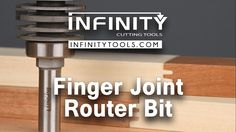 Infinity Cutting Tools - Finger Joint Router Bit