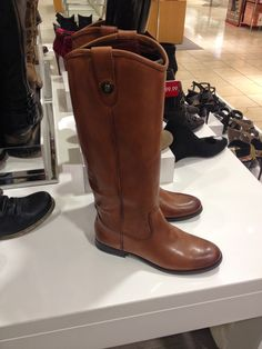 Great dupe for the Frye flat riding boot!