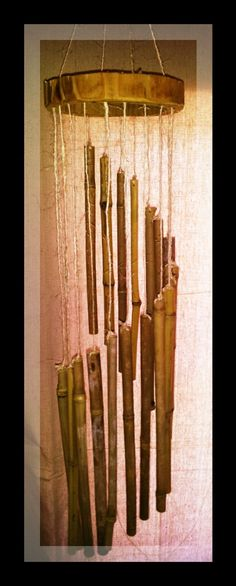 My dream shape! Spiral Bamboo Wind Chimes Bamboo Wind Chimes by BoondockTreasures, $40.00