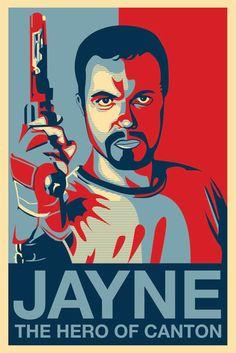 Jane, The Hero of Canton #Firefly    30+ Fantastic TV Fan Artworks in Vector | Vectortuts+