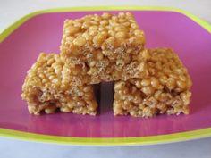 Brown Rice Krispie (Crisp-Wee) Treats on Weelicious
