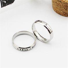 CNBlue Boice Fandom Boy Band K-POP Silver Trendy Alloy Elegant Fashion Ring #CNBlue #Boice #Fandom #BoyBand #KPOP #Silver #Trendy #Alloy #Elegant #Fashion #Ring #KIDOLSTUFF