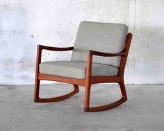 Rocking Chair Cushions Target - Home Furniture Design Danish Modern Furniture, Teak Furniture, Mid Century Modern Furniture, Modern Chairs, Furniture Design, House Furniture, Modern Decor, Furniture Ideas, Modern Design