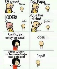 Funny Spanish Memes, Spanish Humor, Stupid Funny Memes, Best Memes, Dankest Memes, Mexican Memes, Funny Comics, Haha, Funny Pictures