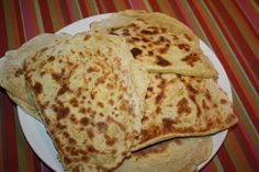 Cheese Naan au Thermomix