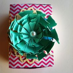 A Southern Lady's Ramblings: Flower Matchbox Tutorial made with my Silhouette