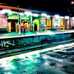 Stations need cleaning, too. Windsor Station