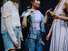An eastern European cool-kid take on the Canadian tuxedo. Click the link in our bio to see #MBFWTbilisi's best street style from the Fall 2017 season. Photo by @Le21eme.  via W MAGAZINE OFFICIAL INSTAGRAM - Celebrity  Fashion  Haute Couture  Advertising  Culture  Beauty  Editorial Photography  Magazine Covers  Supermodels  Runway Models