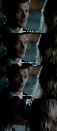 Klaus you have my heart.