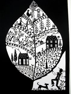Folk art papercutting (wip)