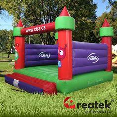 Custom made bouncy castles with company branding. Including EU safety certification for commercial use. Bouncy House, Bouncy Castle, Corporate Branding, Castles, Custom Design, Safety, Commercial, Outdoor Decor, Self