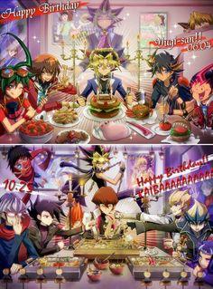 Yu-Gi-Oh! Duelists. Yugi, Yami Yugi (Pharaoh Atem), Jaden, Yusei, Yuma and Yuya. Kaiba, Chazz, Jack, Kite and Reiji.