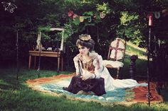 Upcycled Wedding Dress, By Discarded Couture - Stylized Photo Shoot - Vintage - Model - KTB Photography - Hair & Makeup by Erin Bradley