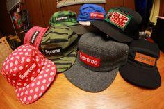 Supreme hats