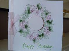 Dogrose Circle personalised Birthday Card £2.00