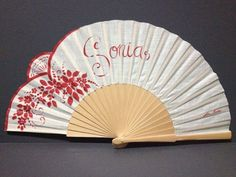 Colección de verano | Cositas pintadas Hand Held Fan, Hand Fans, Cool Umbrellas, Chinese Fans, How He Loves Us, Paper Fans, Fabric Dolls, Victorian Fashion, Gifts For Kids