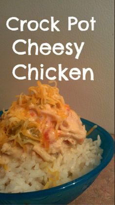 Crock Pot Cheesy Chicken Recipe