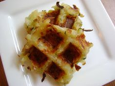 Raising Allergy Kids: Zucchini Potato Waffle-ttes (GF,DF, Egg free)