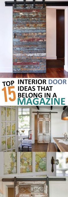 Top 15 Interior Door Ideas that Belong in a Magazine