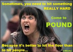 Pound class Rockout Workout fitness funny fun exercise meme