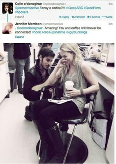 aww i love these two. #captainswan