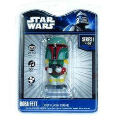 Star Wars 4 GB gig Flash USB Drive - Boba Fett by Tyme Machines
