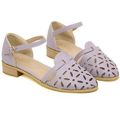 New Arrival Openwork and Low Heel Design Sandals For Women