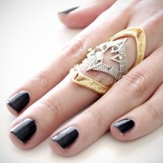 Moroccan Armour Ring