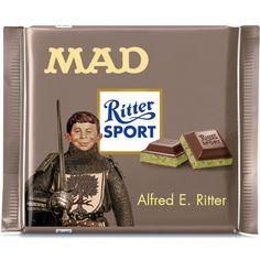 Ritter Sport Fake Sorte - MAD