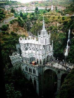 Las Lajas Sanctuary,  Pasto - Colombia.
