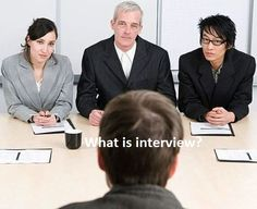 The 13 types of formal interviews and what they mean.