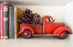 red toy farm truck i want one similar  to this one or white