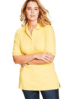 Roamans Womens Plus Size Oversized Polo Tunic Sundance2X ** To view further for this item, visit the image link. (This is an affiliate link) Oversized Polo, Fashion Dresses, Tunic Tops, Plus Size, Link, Image, Women, Fashion Show Dresses, Trendy Dresses