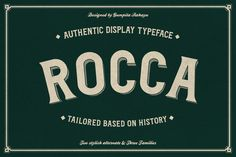 I just released Rocca Typeface on Creative Market. Get it here: http://crtv.mk/iMI6
