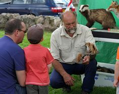Meeting a Ranger and his animals at Prestongrange Museum family activity day 2012