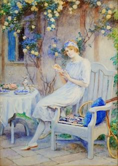 Touch of Color: ~ William Henry Margetson ~ British artist 1860-1940