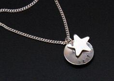 Star Pendant Star Necklace Sterling Silver by BelindaCarmichaelSJ, $38.00 #pcfteam