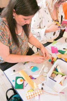 Ready, Steady, Craft! @Etsy #CraftPartyLeam 2014 photo Courtesy of Fiona Murray.