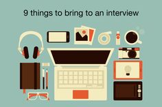 9 things to bring on an interview | Mouthing Off | Blog of the American Student Dental Association