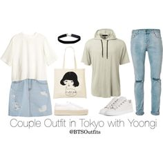 Couple Outfit in Tokyo with Yoongi