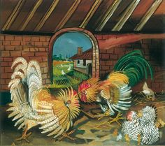 The torments and enchantment of Antonio Ligabue - Italian Ways Puzzle Crafts, Henri Rousseau, Art Addiction, Chickens And Roosters, Naive Art, Bronze Sculpture, Anton, Picasso, Pet Birds