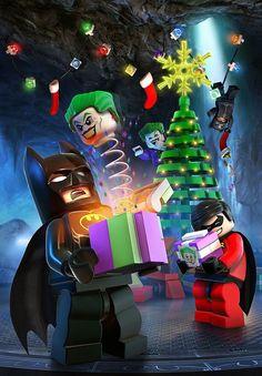 Merry Christmas By Lego Batman