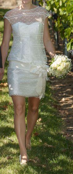 ♥ Kurzes Brautkleid ivory Größe 38 ♥  Ansehen: http://www.brautboerse.de/brautkleid-verkaufen/kurzes-brautkleid-ivory-groesse-38/   #Brautkleider #Hochzeit #Wedding