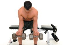Dumbell Wrist Curl-arm workout